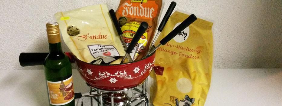 Fondue-Hausmischung fixfertig nature, mit Tomaten, mit Kräutern
